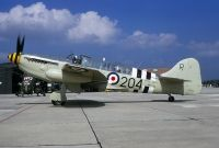 Photo: Royal Navy, Fairey Firefly, WB271