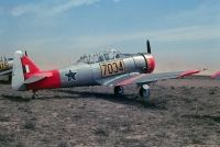 Photo: South African Air Force, North American Harvard, 7034