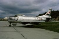 Photo: Norwegian Air Force, North American F-86 Sabre, 41245