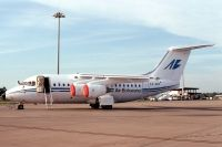 Photo: Air Botswana, British Aerospace BAe 146-200, AZ-ABF