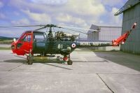 Photo: Royal Navy, Westland Wasp, XT436