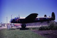 Photo: Royal Canadian Air Force, Avro Lancaster, RX-159