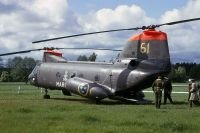 Photo: Swedish Air Force, Boeing-Vertol 107-II, 04061