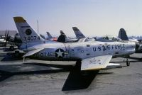 Photo: United States Air Force, North American F-86 Sabre, 53-4074