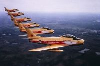 Photo: Royal Canadian Air Force, Canadair CL-13 Sabre, 23066