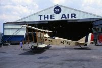 Photo: Royal Air Force, Curtiss JN-4D Jenny, N6898C
