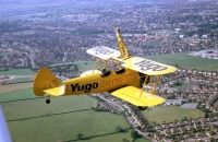 Photo: Yugo Cars, Stearman N2S-3, N54922