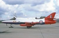 Photo: Royal Aircraft Establishment, Hawker Hunter, XL621