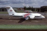 Photo: Royal Flight, British Aerospace BAe 146-100, ZE7OO