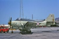 Photo: Royal Navy, Fairey Gannet, XL500