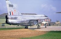 Photo: Royal Air Force, English Electric Lightning, XM988