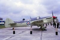 Photo: Royal Navy, Fairey Firefly, VH127