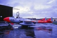 Photo: Royal Navy, De Havilland DH-115 Vampire, XA107