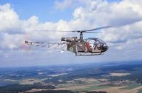 Photo: Swedish Air Force, Aerospatiale Alouette III, 36