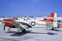 Photo: United States Marines Corps, North American T-28 Trojan, 138148