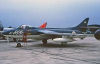 Photo: Royal Navy, Hawker Hunter, XF689