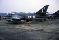 Photo: Royal Air Force, Hawker Hunter, XE626