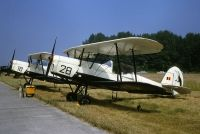 Photo: Belgium - Air Force, Stampe Vertongen SV-4B, 28