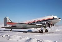 Photo: Northwest Airlines, Douglas DC-3, C-GWMY