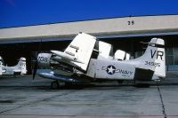 Photo: United States Navy, Douglas A-1 Skyraider, 134985