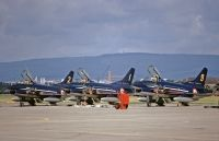 Photo: Frecce Tricolori, Fiat G-91