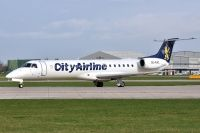 Photo: City Airline, Embraer EMB-145, SE-RAC