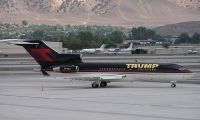 Photo: Trump, Boeing 727-100, VP-BDJ