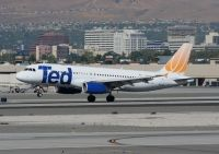 Photo: Ted, Airbus A320, N445UA
