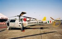 Photo: Indian Air Force, Hindustan Chetak Alouette III, Z449