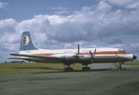 Photo: B.K.S Air Transport, Bristol Britannia 102, G-ANBK