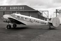 Photo: Privately owned, Beech D18S, PH-UBW