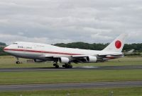 Photo: Japanese Air Self Defence Force, Boeing 747-400, 20-1101